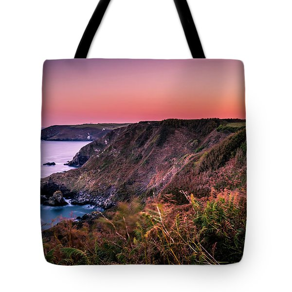Lizard Point Sunset - Cornwall Tote Bag