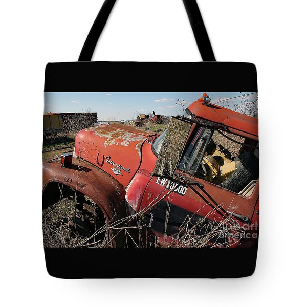 Tote Bag featuring the photograph Loadstar No More by PJ Boylan