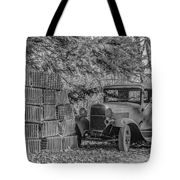 Lobster Pots And Truck Tote Bag