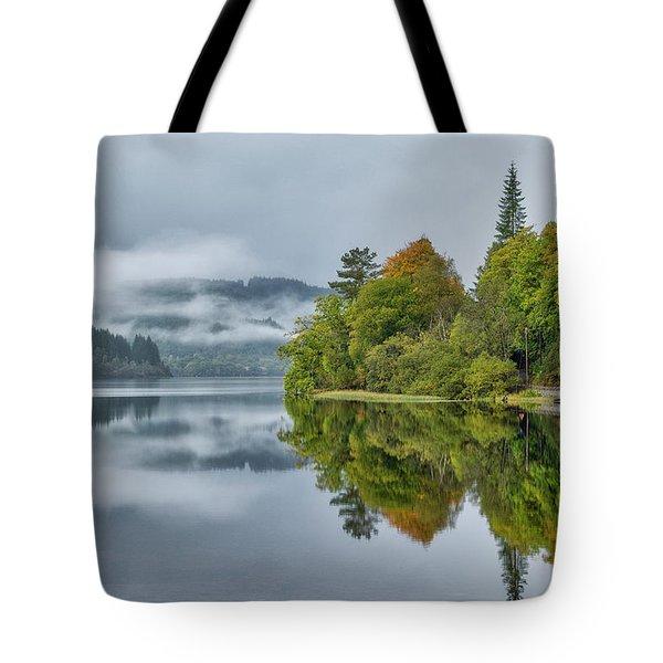 Loch Ard In Scotland Tote Bag