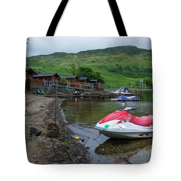 Loch Ski  Tote Bag