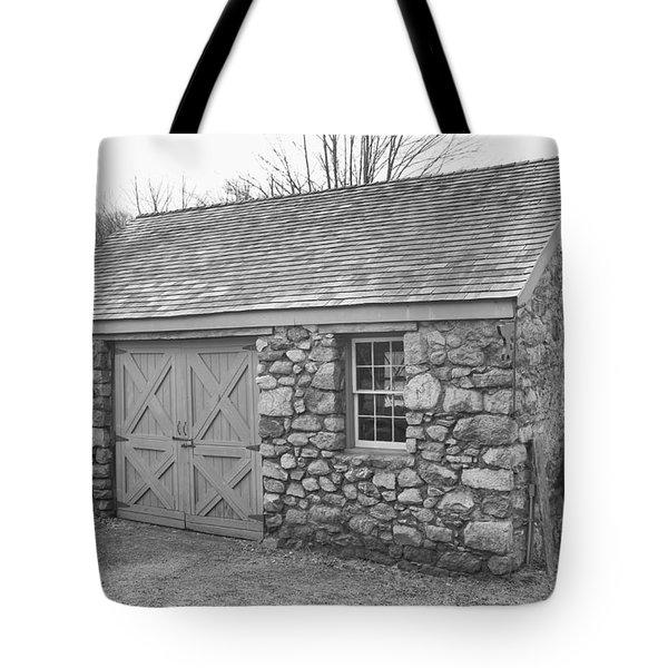 Lock House, Detail - Waterloo Village Tote Bag