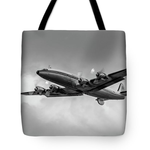 Lockheed Breitling Super Constellation  Tote Bag