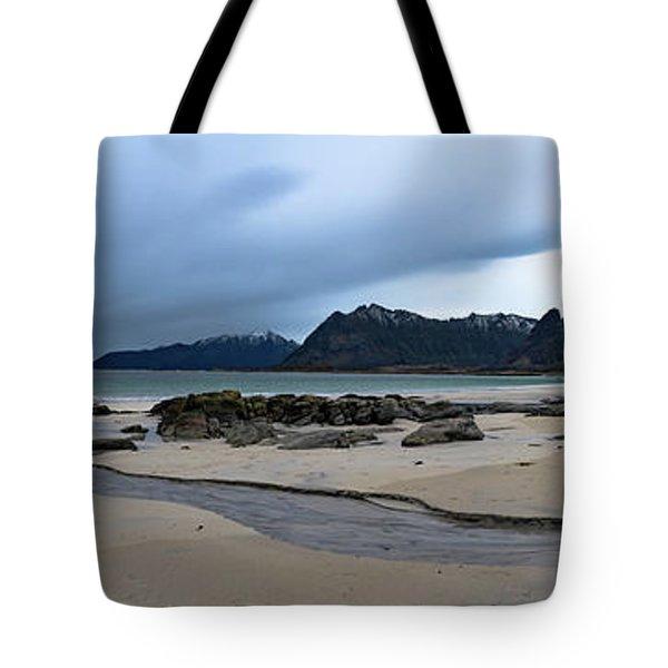 Lofoten Beach Tote Bag