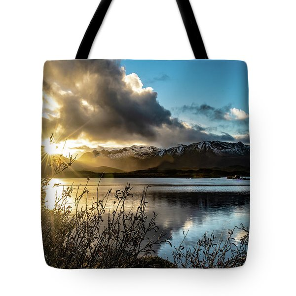 Lofoten Sunset Tote Bag