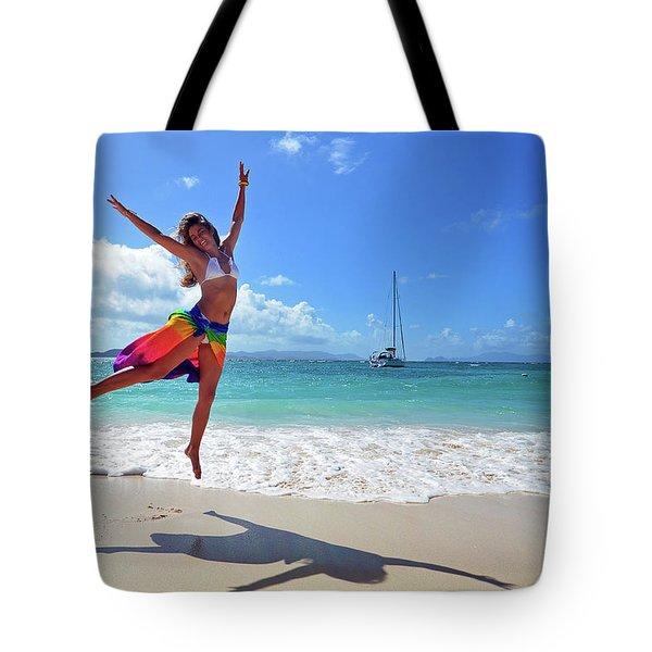 Lollick Frolic Tote Bag