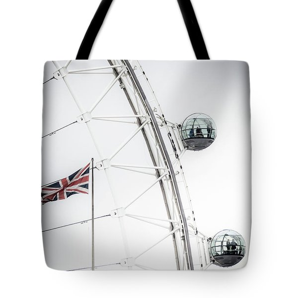 London Eye And Union Jack Tote Bag