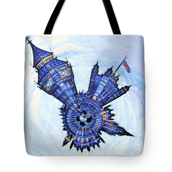 London Littleplanet Tote Bag