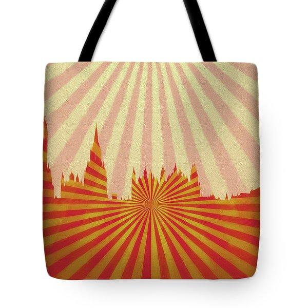 London Pop Art Tote Bag