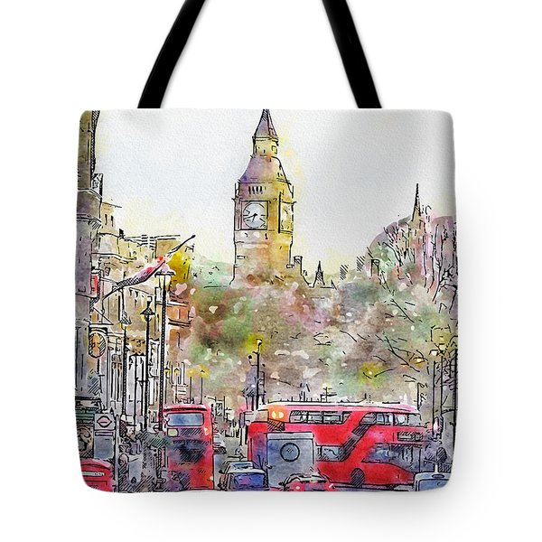 London Street 4 Tote Bag