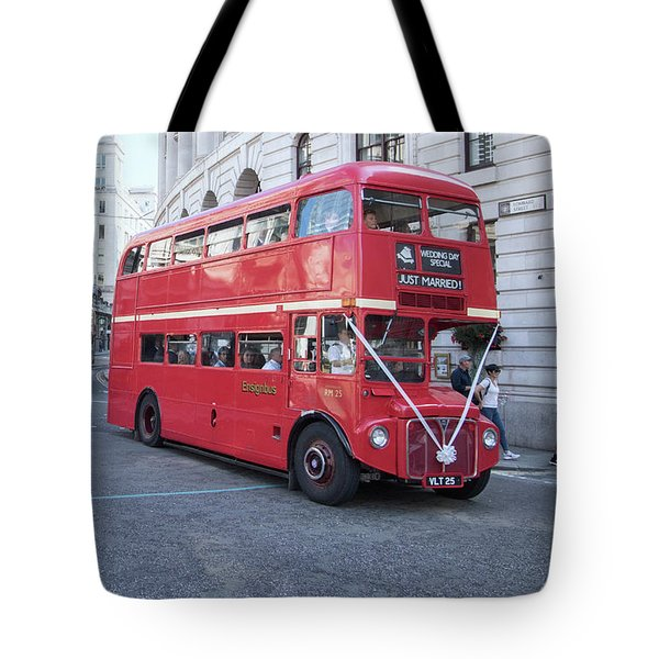 London Wedding Tote Bag