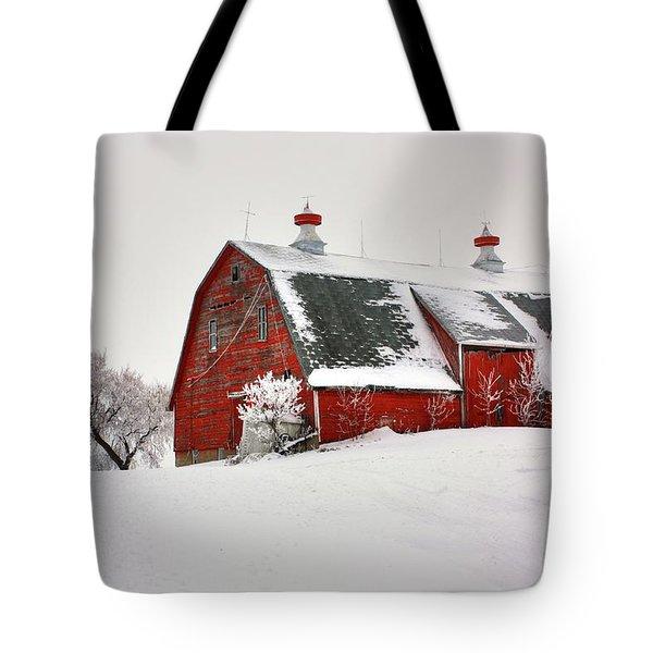 Lone Barn Tote Bag