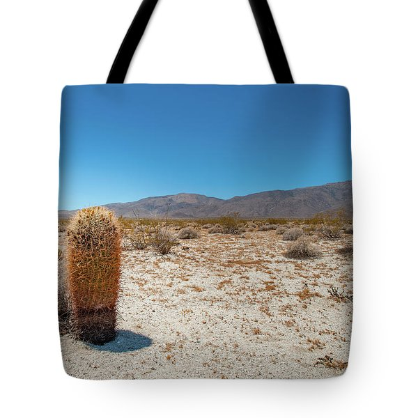 Lone Barrel Cactus Tote Bag