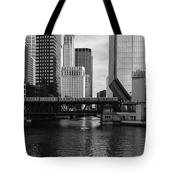 Lone Walk Tote Bag