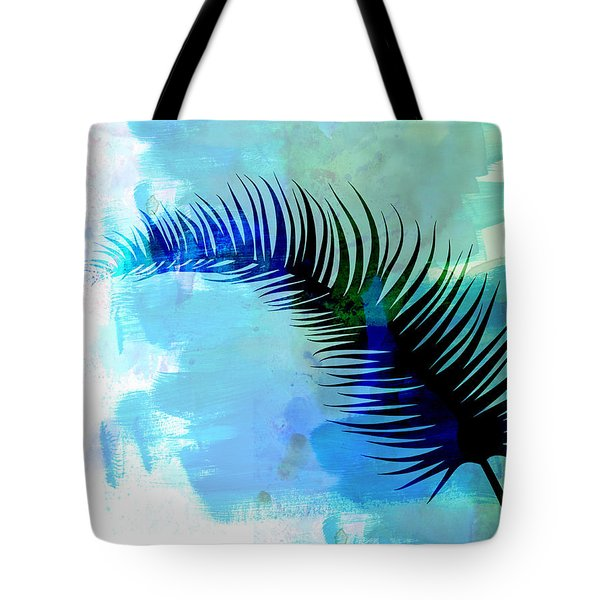 Lonely Leaf Watercolor I Tote Bag