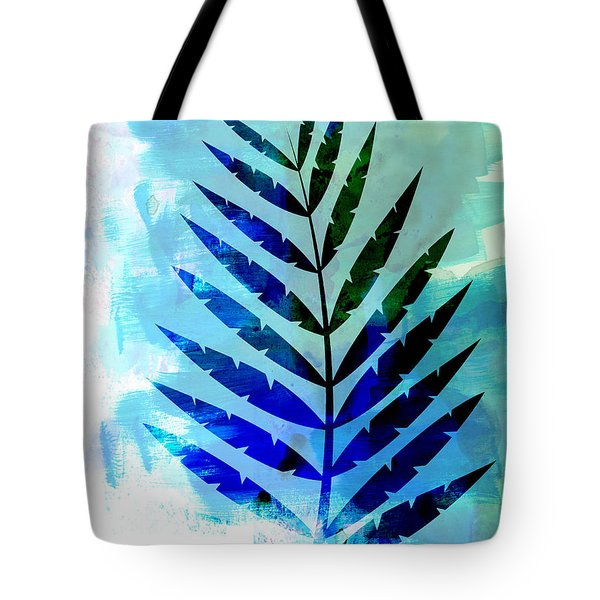 Lonely Leaf Watercolor Tote Bag