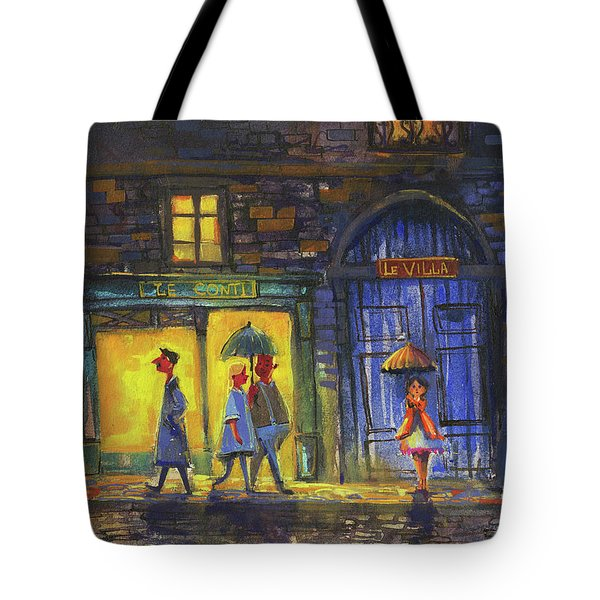 Lonely Night Out Tote Bag