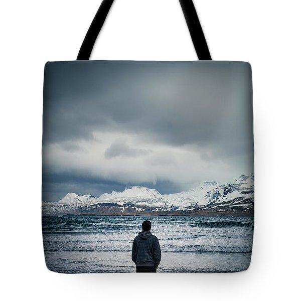 Lonely Seas Tote Bag