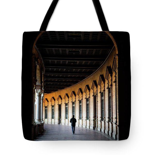 Lonely Trail Of Memory Tote Bag