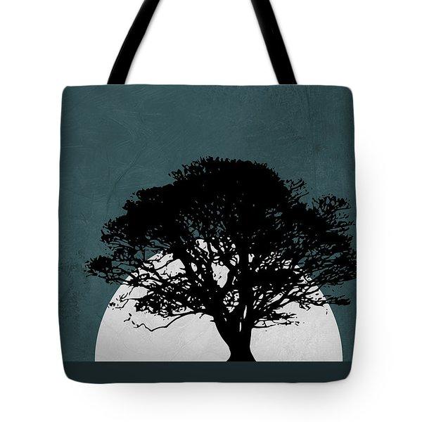 Lonely Tree In Safari Tote Bag