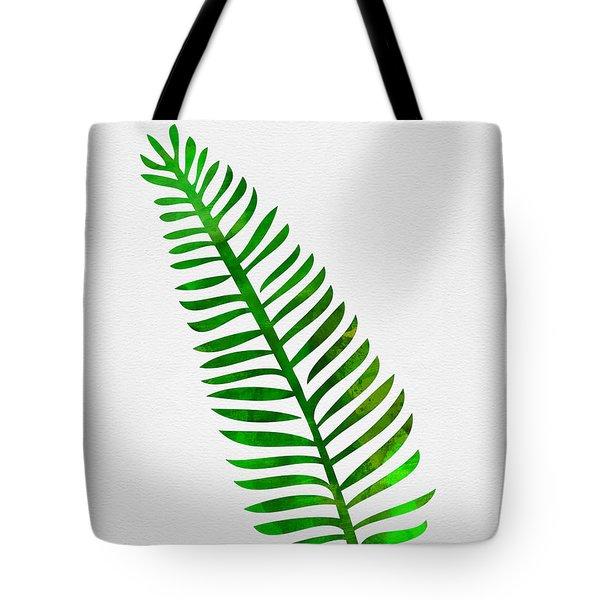 Lonely Tropical Leaf II Tote Bag