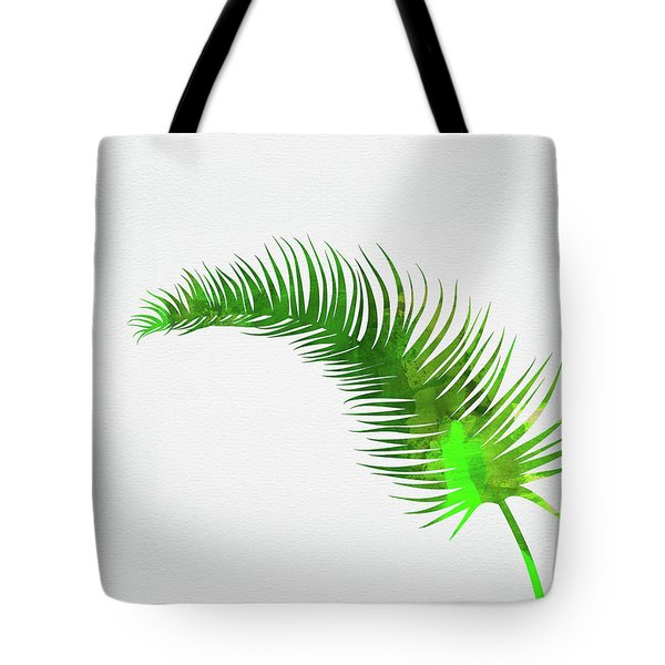 Lonely Tropical Leaf Tote Bag