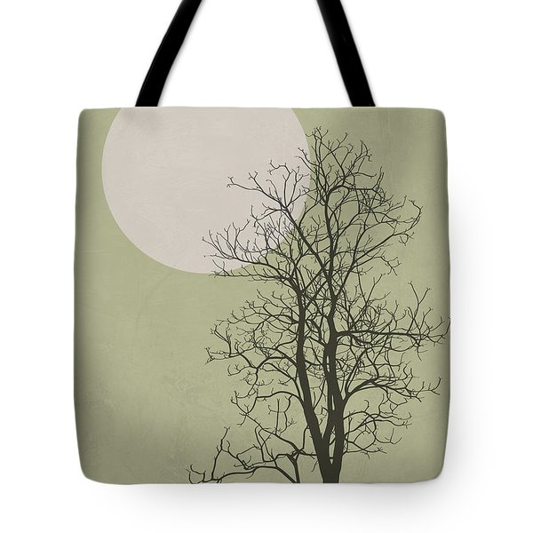 Lonely Winter Tree Tote Bag