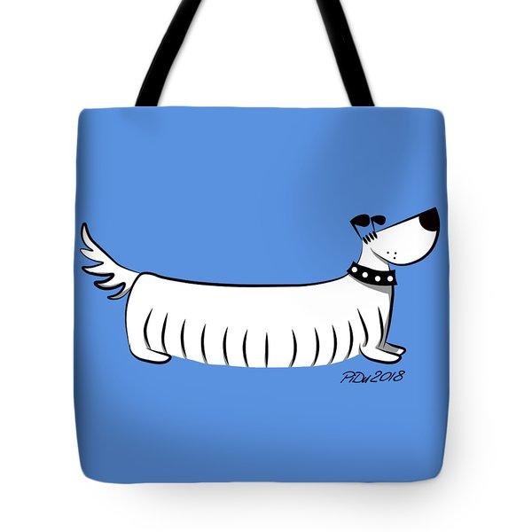 Long Dog Tote Bag