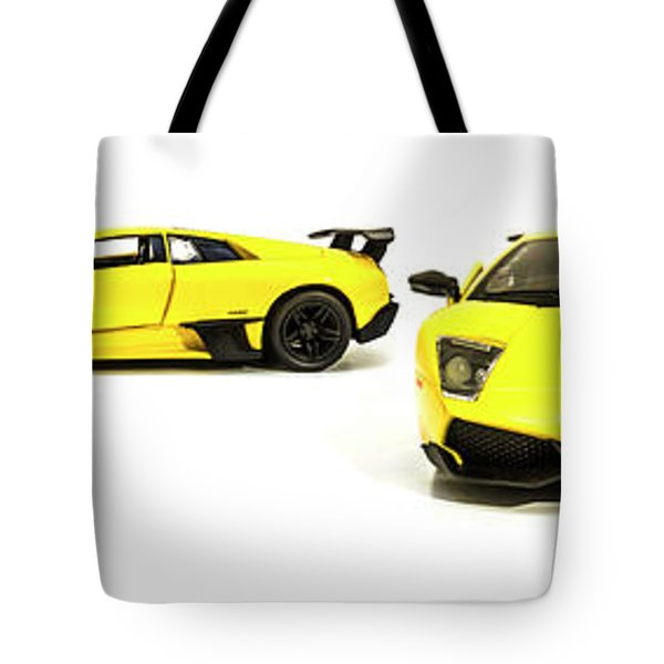 Long Lambo Lineup  Tote Bag