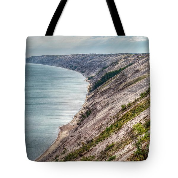 Long Slide Overlook Tote Bag