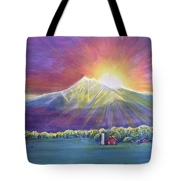 Longs Peak Colorado Tote Bag