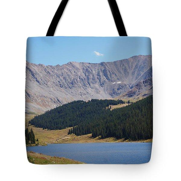 Longs Peak Colorado Tote Bag
