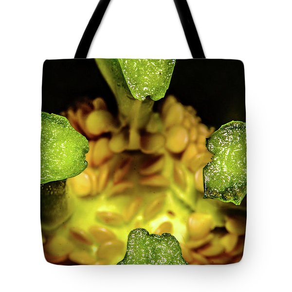 Looking Into A Pepper Tote Bag