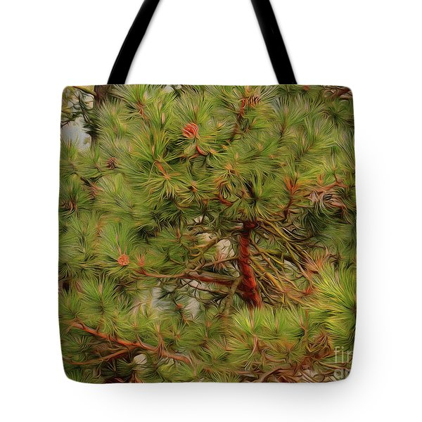 Tote Bag featuring the photograph Looking Up by Leigh Kemp
