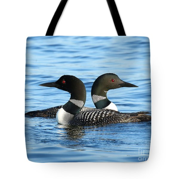 Loon Love Tote Bag