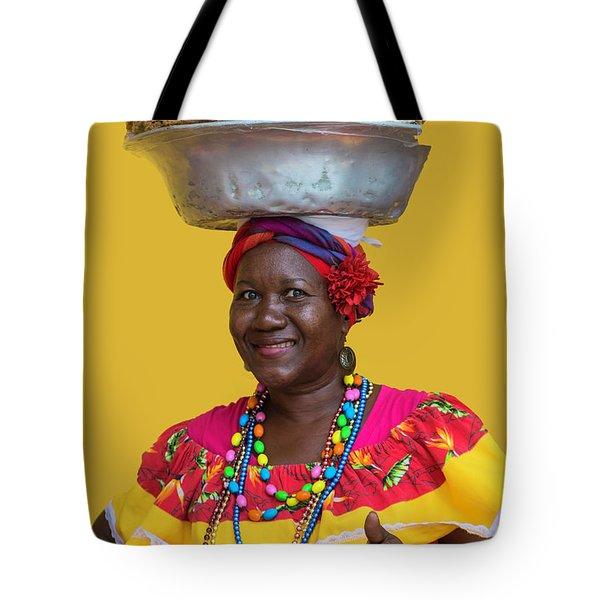 Los Palenques De Cartagena De Indias Tote Bag