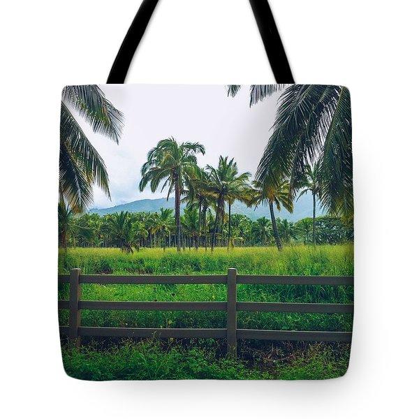Lost Field Tote Bag