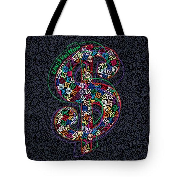 Louis Vuitton Dollar Sign-4 Tote Bag