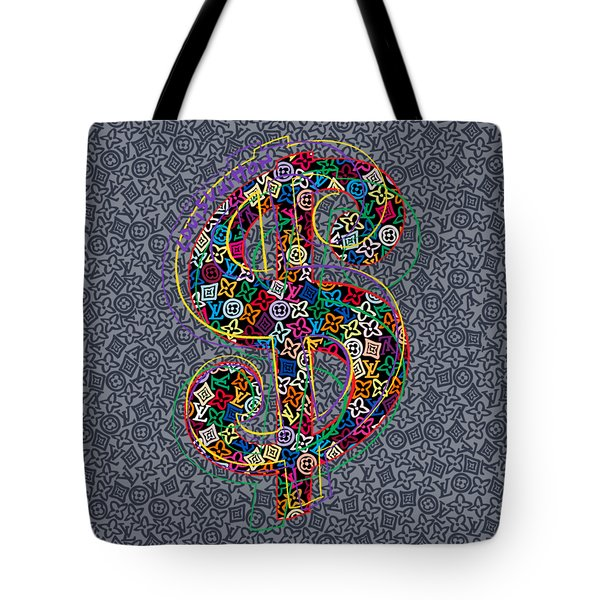 Louis Vuitton Dollar Sign-9 Tote Bag