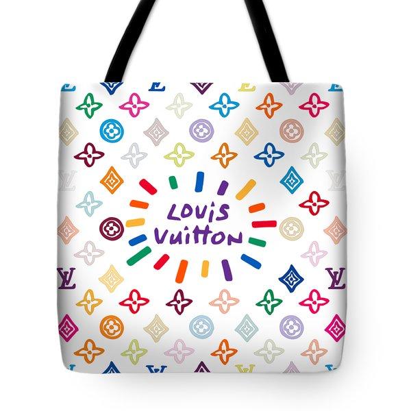 Louis Vuitton Monogram-10 Tote Bag
