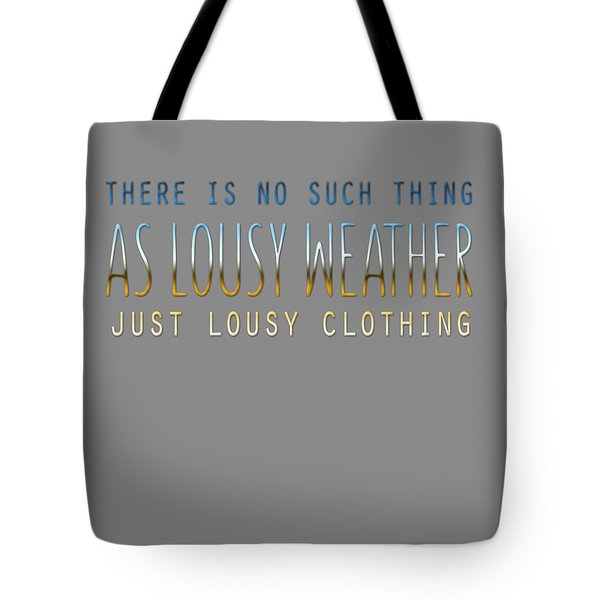 Lousy Clothing Tote Bag