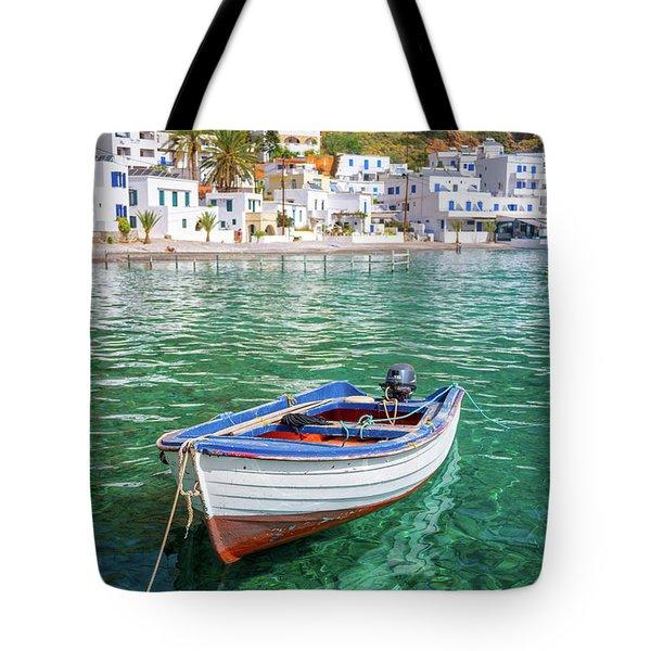 Loutro, Crete Tote Bag