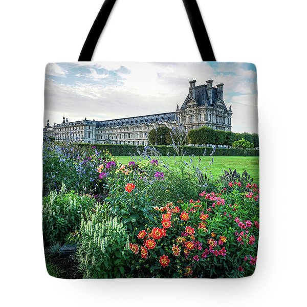 Tote Bag featuring the photograph Louvre by Jim Mathis