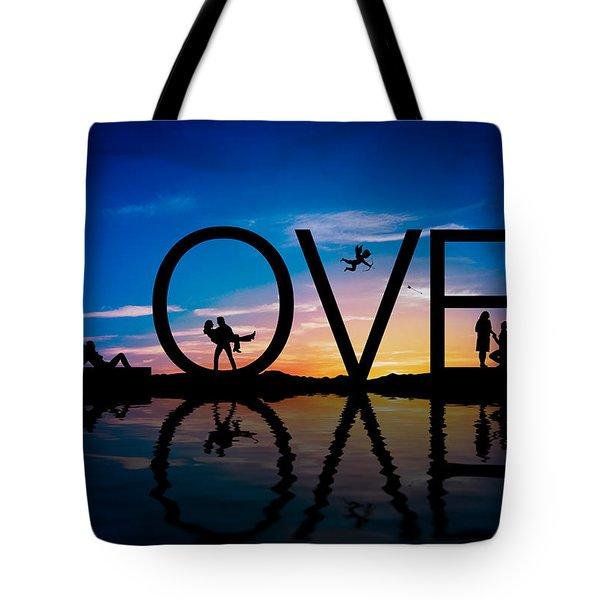 Love Concept Tote Bag