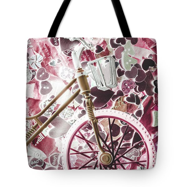 Love Courier Tote Bag