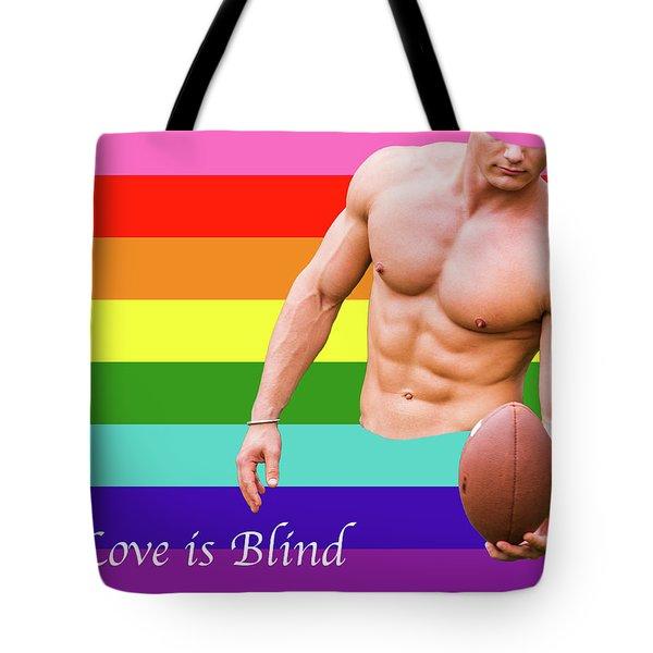Love Is Blind 4 Tote Bag