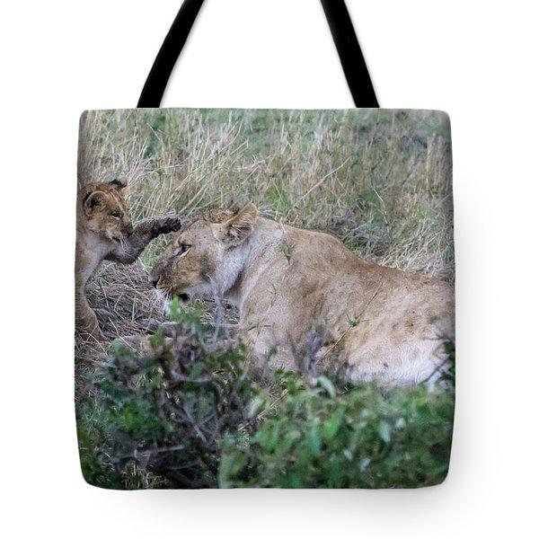 'love You Mom' Tote Bag