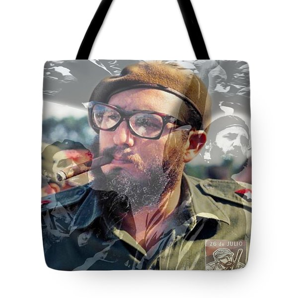 Loved Fidel Tote Bag