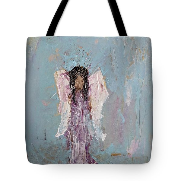 Lovely Angel  Tote Bag