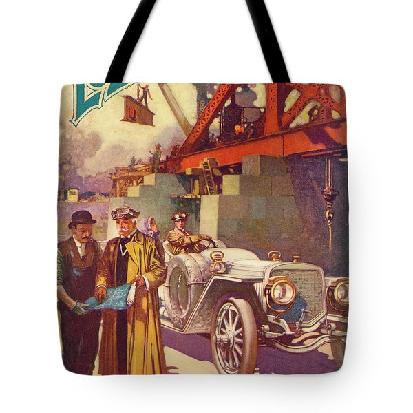 Lozier Advertisement Tote Bag